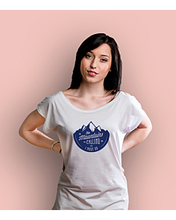 Mountains are calling 2 T-shirt damski Biały XS