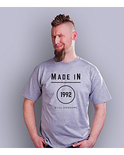 Made In – Still Awsome T-shirt męski Jasny melanż S