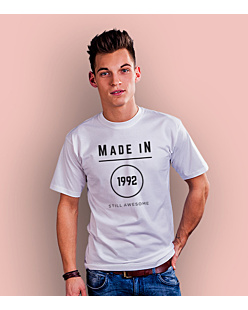 Made In – Still Awsome T-shirt męski Biały S