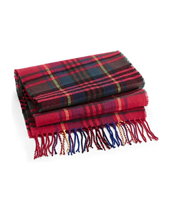 Szalik - Classic Check Szalik Classic Check Scarf Red-Check