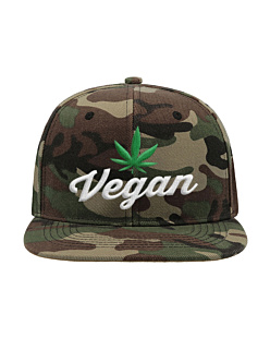 Vegan - Czapka Snap Five Czapka Atlantis Snap Five Camuflage U