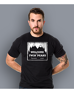 Welcome to Twin Peaks T-shirt męski Czarny M