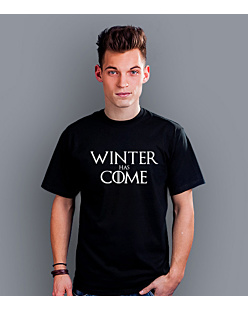 Winter Has Come T-shirt męski Czarny XXL