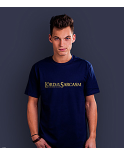 Lord of the Sarcasm T-shirt męski Granatowy S