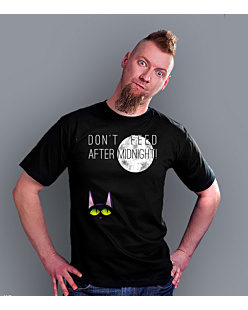 Don't feed after midnight T-shirt męski Czarny S