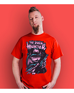 The Duck Hunter T-shirt męski Czerwony S