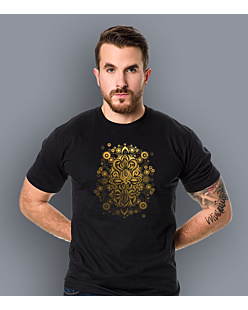 Sea Treasure Gold T-shirt męski Czarny S