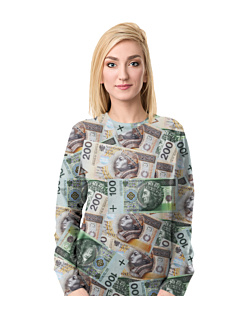 Money Money Bluza Fullprint Damska S