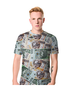 Money Money T-shirt męski FullPrint S