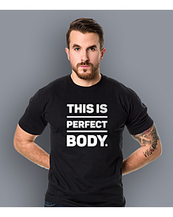 Perfect Body T-shirt męski Czarny L