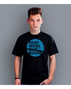 READ MORE BOOKS... T-shirt męski Czarny S