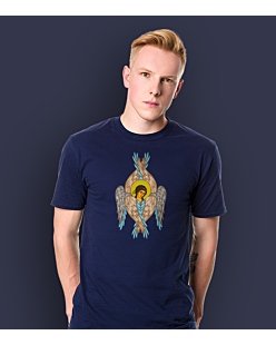 The Angel T-shirt męski Granatowy S