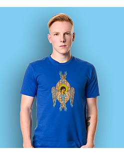 The Angel T-shirt męski Niebieski S