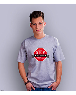 Don't stop me now! T-shirt męski Jasny melanż S