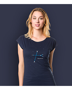 Cross Browser T-shirt damski Granatowy XXL