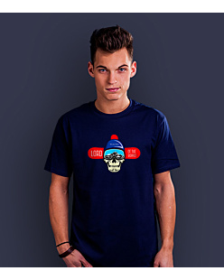 Lord of the Board T-shirt męski Granatowy XXL