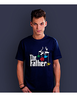 The Father T-shirt męski Granatowy S