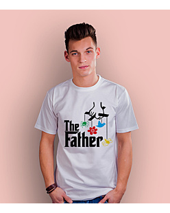 The Father T-shirt męski Biały S