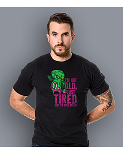 Cthulhu - Just tired T-shirt męski Czarny S