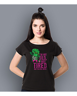 Cthulhu - Just tired T-shirt damski Czarny XS