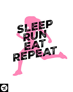 Sleep Run Eat Repeat W