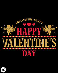 Have a Very Happy Holidays - Valentine's Day