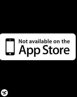 Not on Appstore