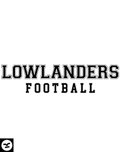 Lowlanders Football College Black